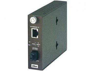 100Base-T WDM TX-1550 SM keitiklis 20km