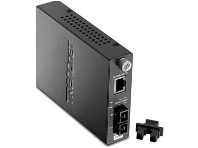 10/100Base-TX - 100Base-FX SC keitiklis SM 15km