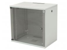 12U spinta su stiklo durimis 604x600x400 (AxPxG)mm
