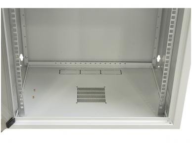 12U spinta su stiklo durimis 604x600x600 (AxPxG)mm 3