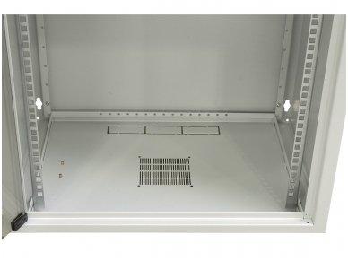 10U spinta su stiklo durimis 515x600x600 (AxPxG)mm 2