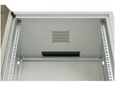 10U spinta su stiklo durimis 515x600x600 (AxPxG)mm 3