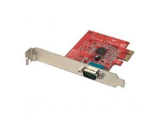 Lindy 1 Port Serial RS-232. 16C650. 128 Byte FIFO. PCIe Card