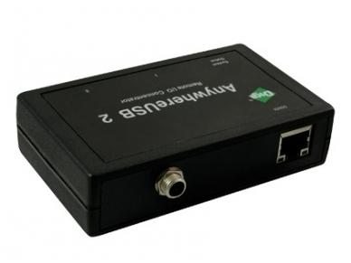 2 portų USB IP šakotuvas, DIGI AW-USB-2-W 2