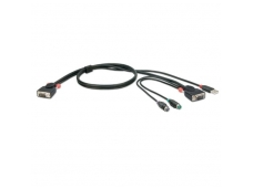 Lindy 2m COMBO KVM Cable USB & PS/2