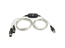 Lindy USB to MIDI Cable. 2m