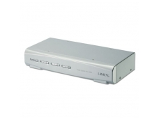 Lindy 4 Port KVM Switch Pro USB 2.0. DVI-I Dual Link