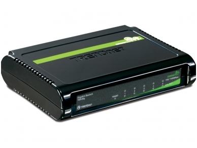5-port 10/100/1000Mbps komutatorius