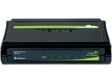 5-port 10/100/1000Mbps komutatorius 3