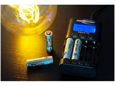 800-3038 Pakroviklis NiCd, NiMH akumuliatoriams AAA, AA 11