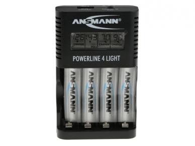 800-3048 Baterijų kroviklis AA AAA NiMH