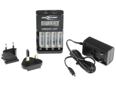 800-3048 Baterijų kroviklis AA AAA NiMH 2