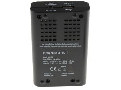 800-3048 Baterijų kroviklis AA AAA NiMH 3