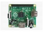 Raspberry Pi A+ 256MB plokštė