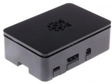 908-4215 Korpusas Raspberry Pi 3 / Pi 2 / Pi B+, juodas