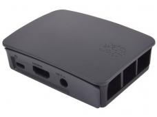 909-8138 Korpusas Raspber. Pi3 Pi 2 / Pi B+ juodas/pilkas