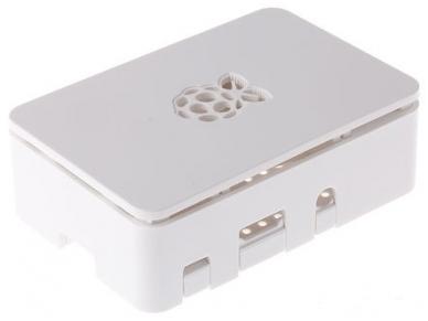 Korpusas Raspberry Pi 3 / Pi 2 / Pi B+, baltas