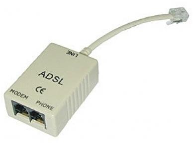ADSL šakotuvas, RJ11