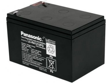 Akumuliatorius 12V 12Ah, Panasonic LC-RA1212PG1 6-9m