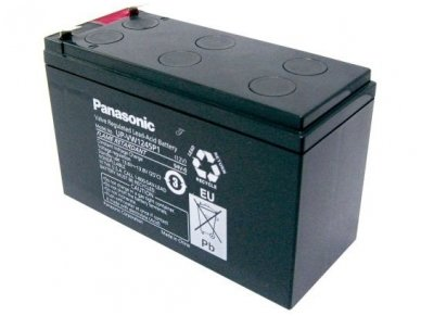 Akumuliatorius 12V 270W, Panasonic UP-VW1245P1