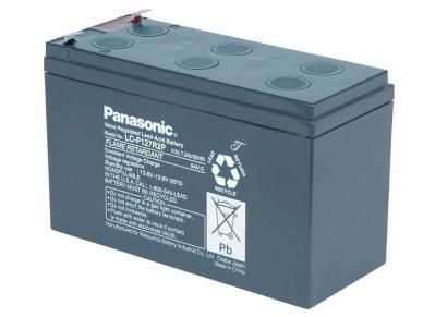 Akumuliatorius 12V 7.2Ah, Panasonic LC-P127R2P1 10-12 metų