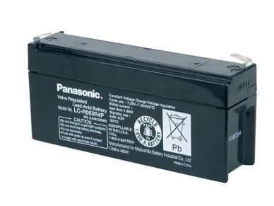 Akumuliatorius 6V 3.4Ah, Panasonic LC-R063R4P