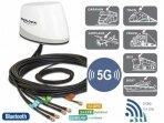 Antena 5G LTE-MIMO, WLAN, GPS, GLONASS 5xRP-SMA išorinė