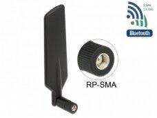 Antena LTE WLAN Dual Band RP-SMA kištukas 1-4dBi