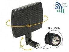 Antena WLAN 802.11 ac/a/b/g/n RP-SMA kištukas 5-7dBi