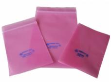 "Antistat. maišelis 305x406mm""pink poly"" (100vnt.)"