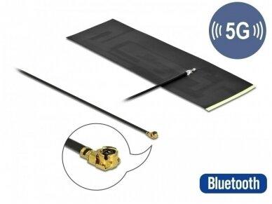 Antena 5G LTE MHF I kištukas -0.42 -5dBi, FPC