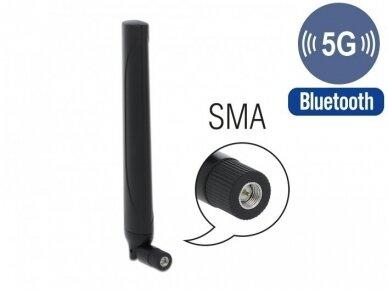 Antena 5G LTE SMA kištukas -0.5 -2.3dBi