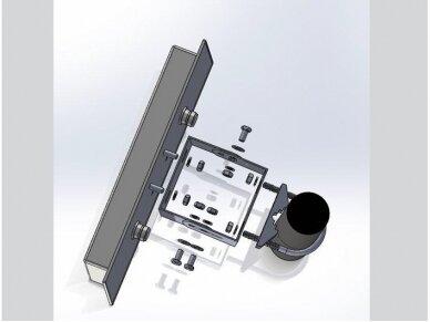 Antena WLAN MIMO 802.11 ac/a/hb/g/n 2xN lizdas 10.5-12dBi 6