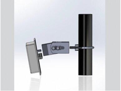 Antena WLAN MIMO 802.11 ac/a/hb/g/n 2xN lizdas 10.5-12dBi 7