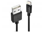 Apple Lightning USB duomenų ir maitinimo kabelis 0,5m juodas