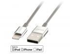 Apple Lightning USB duomenų ir maitinimo kabelis 1m CROMO
