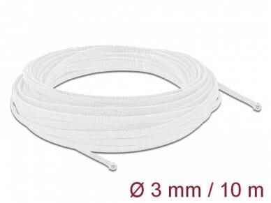 Apsauginis pintas šarvas 1-6mm, 10m,  baltas