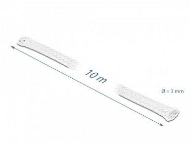 Apsauginis pintas šarvas 1-6mm, 10m,  baltas 3