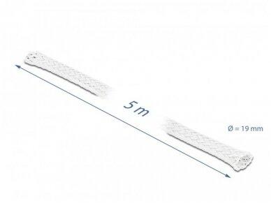 Apsauginis pintas šarvas 14-30mm, 5m,  baltas 3