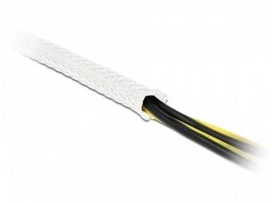 Apsauginis pintas šarvas 3-9mm, 10m,  baltas 3