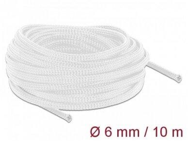 Apsauginis pintas šarvas 3-9mm, 10m,  baltas