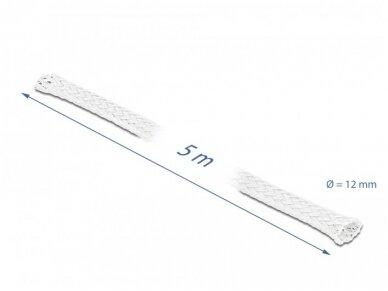 Apsauginis pintas šarvas 8-24mm, 5m,  baltas 2