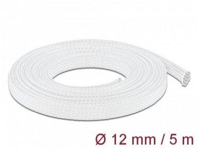 Apsauginis pintas šarvas 8-24mm, 5m,  baltas