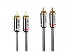 Audio kabelis 2xRCA - 2xRCA 3m, CROMO Line