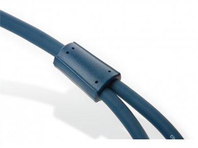 Audio kabelis 2xRCA - 2xRCA 1m Clicktronic 3