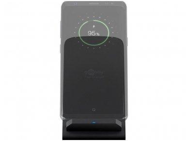 Belaidis mobilaus telefono įkroviklis, Qi, 10W, Desk 4