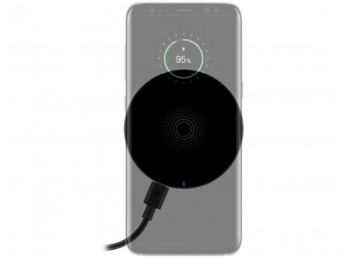 Belaidis mobiliųjų telefonų įkroviklis, Qi, 5W 2