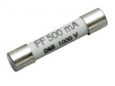CEM saugiklis CEM F500MA 500mA FF 1000V