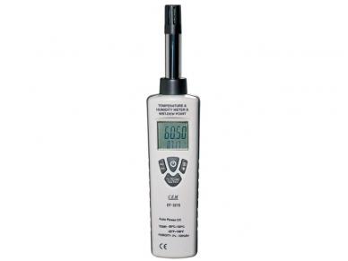 CEM drėgmės ir temperatūros matuoklis, DT-321S