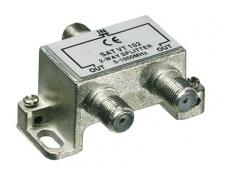 Daliklis 2 abonentams, (5-1000 MHz), F